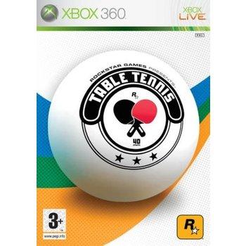Xbox 360 Rockstar Table Tennis