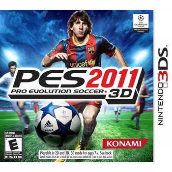 3DS Pro Evolution Soccer (PES) 2011 3D