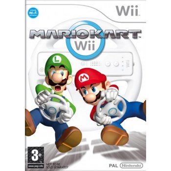 Wii Mario Kart with Wheel