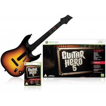Xbox 360 Guitar Hero 5 incl. Wireless Gitaar kopen