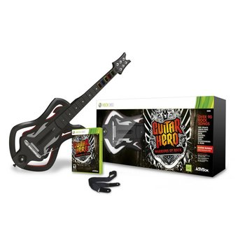Xbox 360 Guitar Hero Warriors of Rock Bundle
