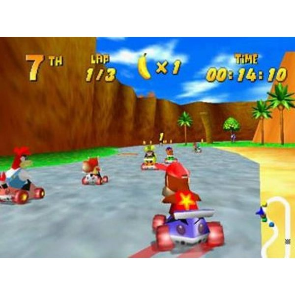 DS Used: Diddy Kong Racing