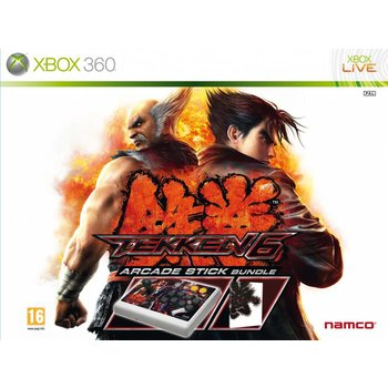Xbox 360 Tekken 6 with Wireless Arcade Joystick