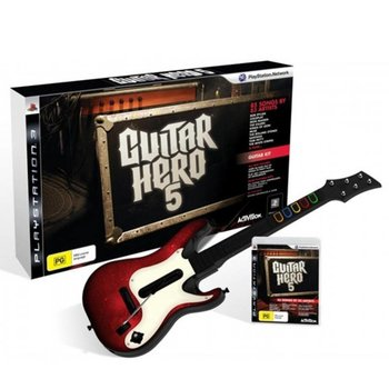 PS3 Guitar Hero 5 incl. Wireless Gitaar kopen