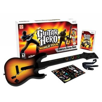 Wii Guitar Hero World Tour Bundle