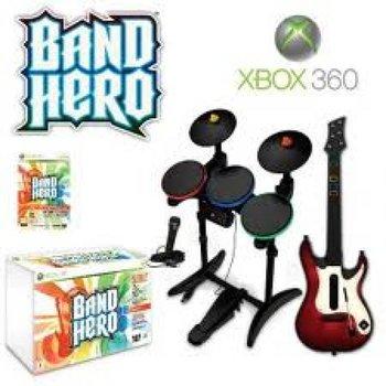 Xbox 360 Band Hero Super Bundle