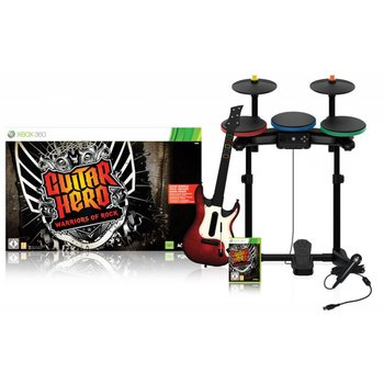 Xbox 360 Guitar Hero Warriors of Rock SuperBundle