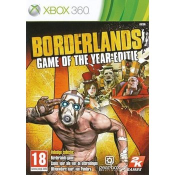 Xbox 360 Borderlands Game of The Year kopen