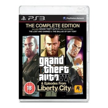 PS3 GTA IV Complete Edition kopen
