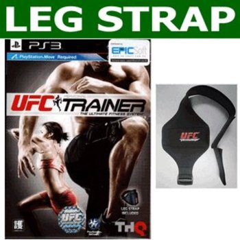 PS3 UFC Personal Trainer incl Leg Strap (Move)