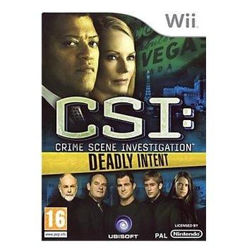 Wii CSI Deadly Intent kopen