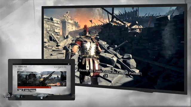 Ryse Son of Rome gebruikt Xbox One Smartglass