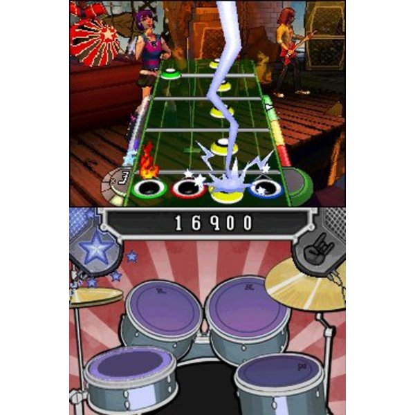DS Used: Band Hero with Guitar & Drum Grip