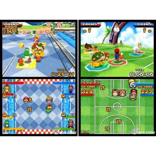 DS Used: Mario Slam Basketball
