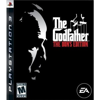 PS3 The Godfather Don's Edition