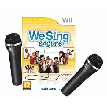 Wii We Sing Encore + 2 Microfoons kopen