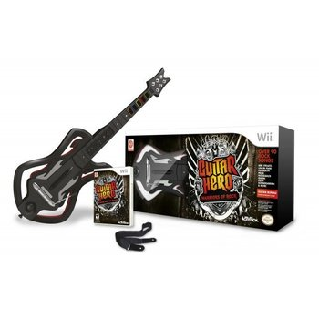 Wii Guitar Hero Warriors of Rock Bundle