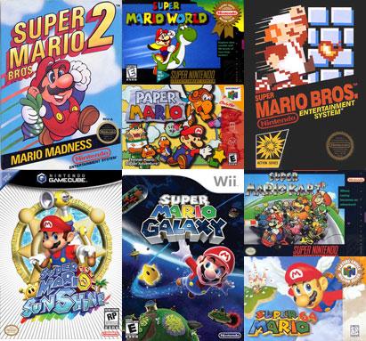 Mario spellen kopen