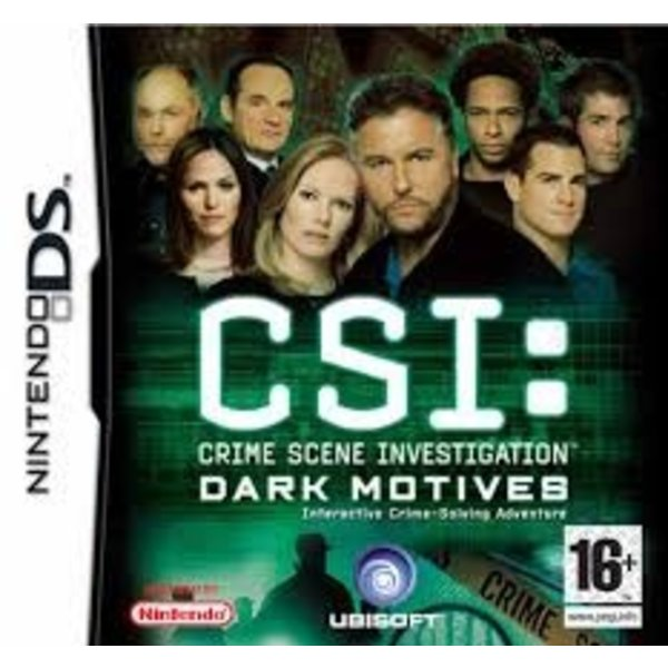 DS Used: CSI Dark Motives