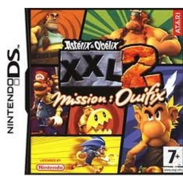 DS Used: Asterix & Obelix XXL 2: Mission Wifix