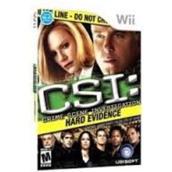 Wii CSI Hard Evidence