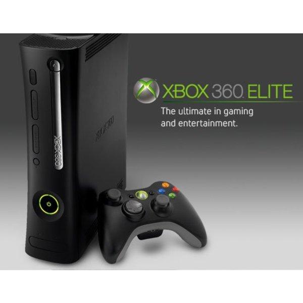 Xbox 360 elite 120gb bestellen voor maar 69 97 for Stahlwandpool 360 x 120