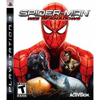 PS3 Spiderman Web of Shadows