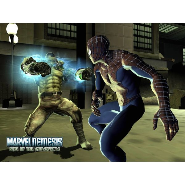 Gamecube Used: Marvel Nemesis - Rise of the Imperfects