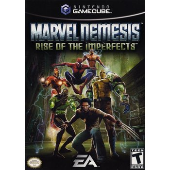 Gamecube Marvel Nemesis - Rise of the Imperfects