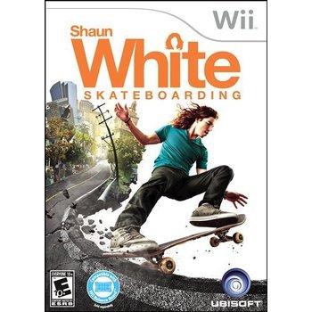 Wii Shaun White Skateboarding