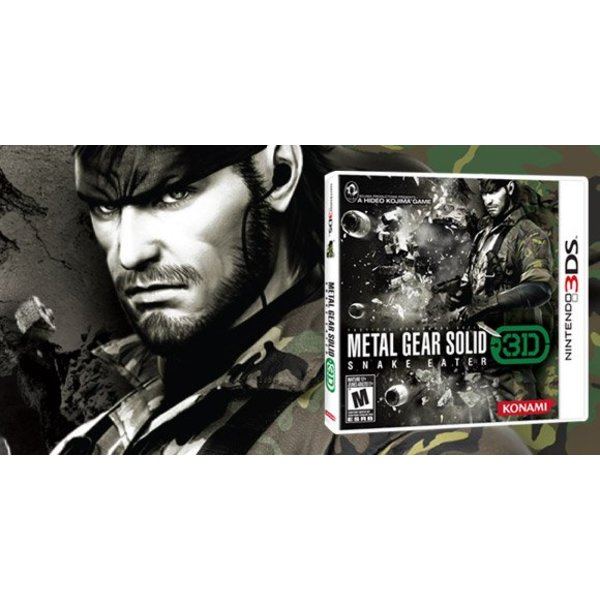 3DS Used: Metal Gear Solid: Snake Eater 3D