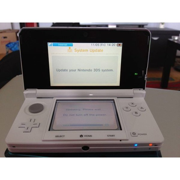 3DS Used: Nintendo 3DS Ice White (Wit)