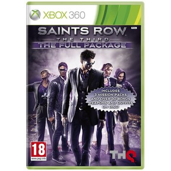 Xbox 360 Saints Row the Third - The Full Package