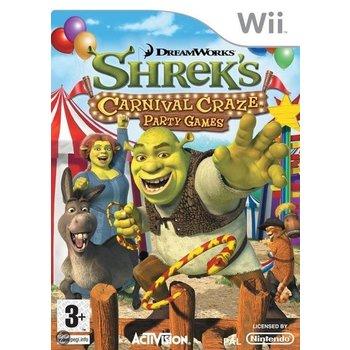 Wii Shrek's Carnival Craze