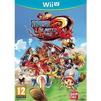 Wii U One Piece Unlimited World Red