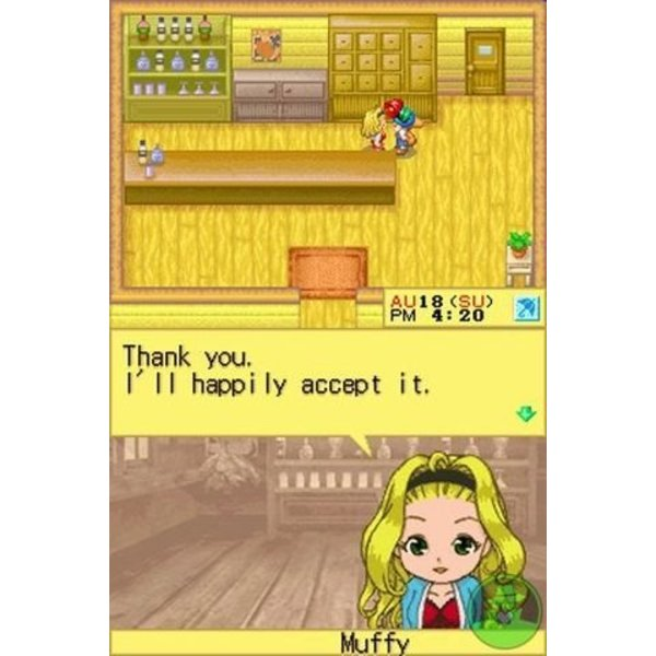 DS Used: Harvest Moon