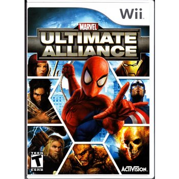 Wii Marvel Ultimate Alliance
