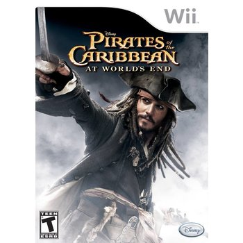 Wii Pirates of the Caribbean: At Worlds End