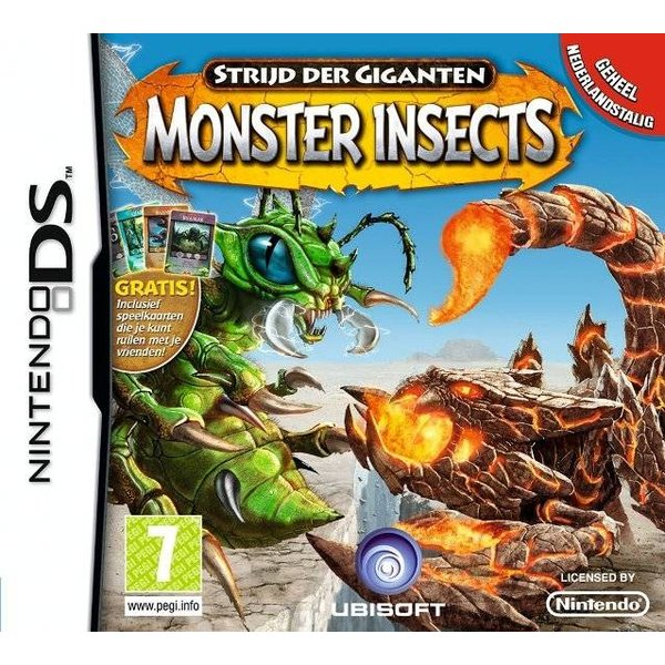 DS Used: Monster Insects