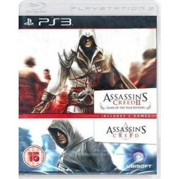 PS3 Assassins Creed 1 & 2 Double Pack