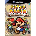 Gamecube Used: Super Paper Mario The Thousand Year Door