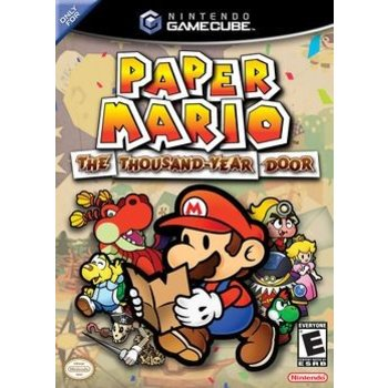 Gamecube Super Paper Mario The Thousand Year Door