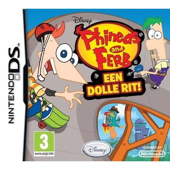 DS Phineas & Ferb Ride Again