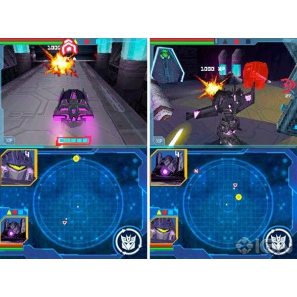 DS Used: Transformers: War for Cybertron Decepticons
