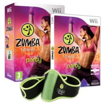 Wii Zumba with Fitness Belt