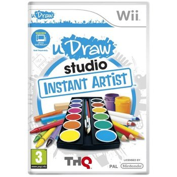 Wii UDraw Studio with Tablet