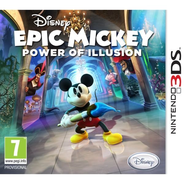 3DS 2e hands: Epic Mickey Power of Illusion