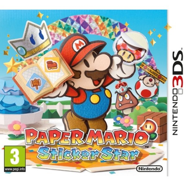 3DS Used: Paper Mario Sticker Star