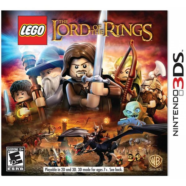 3DS Used: LEGO Lord of the Rings