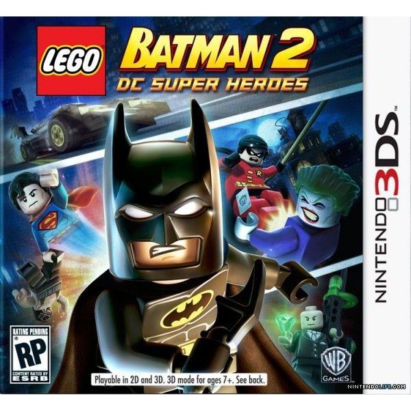 3DS Used: LEGO Batman 2 - DC Super Heroes